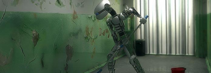 Robots de limpieza de oficinas - Robot de limpieza a vapor ...